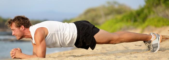 man training fitness