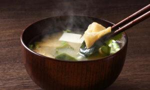 Japanese washoku soup