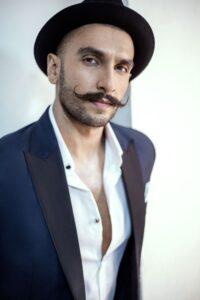 Handlebar style moustache for Movember