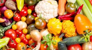 Non-organic vegtables