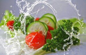 cucumber, tomato