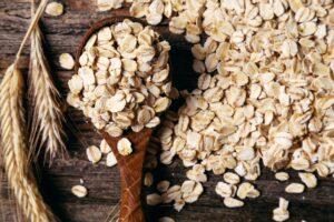 A heap of oats