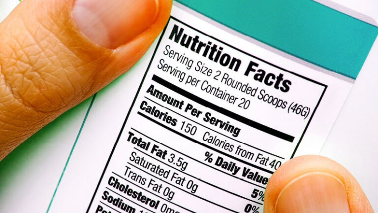 Big Nutritional Label changes coming soon