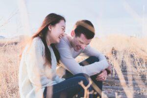 Man and woman laughing | Libido
